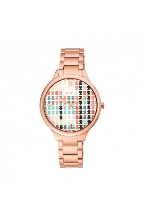 Relógio TOUS Tartan Ouro Rosa