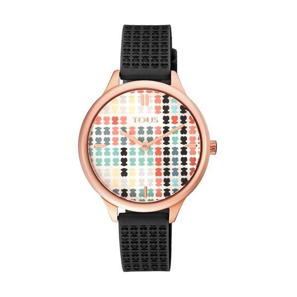 Relógio TOUS Tartan Preto 900350135