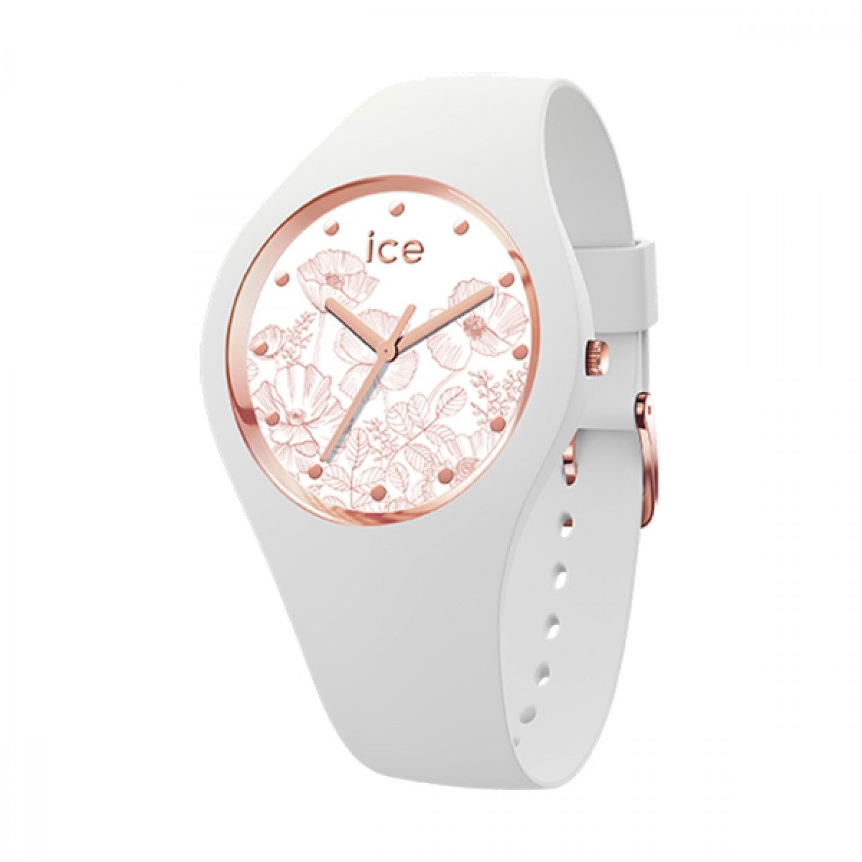 Relógio ICE Flower Branco