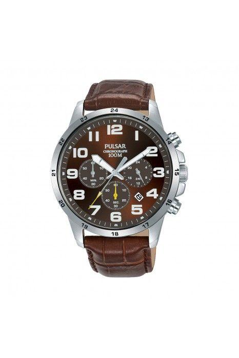 Relógio PULSAR Active Castanho
