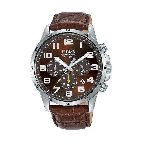 Relógio PULSAR Active Castanho PT3A05X1