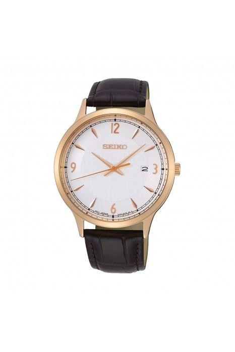 Relógio SEIKO Neo Classic Castanho