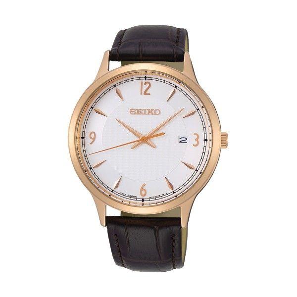 Relógio SEIKO Neo Classic Castanho SGEH88P1