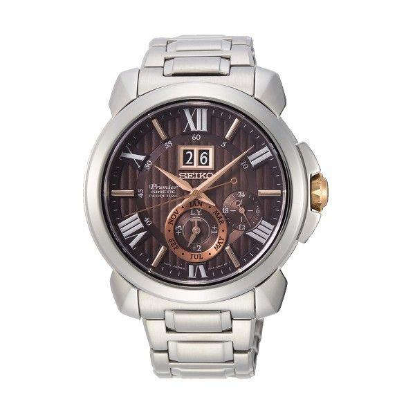 Relógio SEIKO Premier Prateado SNP157P1