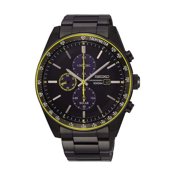 Relógio SEIKO Solar Preto SSC723P1