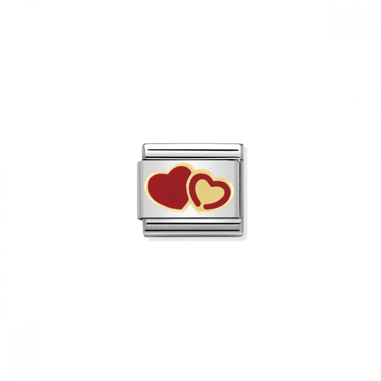 Charm Link NOMINATION Dois Corações
