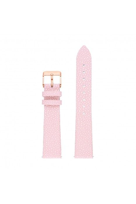 Bracelete WATX Leather Desire Rosa
