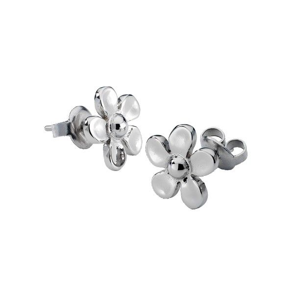Brincos ONE JEWELS Metal Flower S OJME01