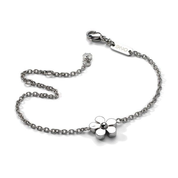 Pulseira ONE JEWELS  Metal Flower OJMB01