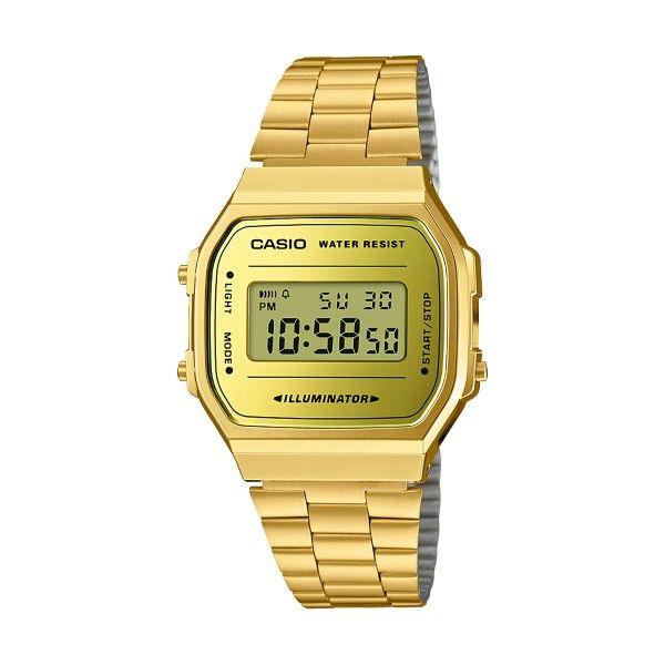 Relógio CASIO Vintage Iconic Dourado A168WEGM-9EF