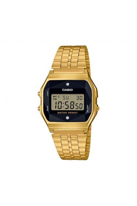 Relógio CASIO Diamond Vintage Dourado