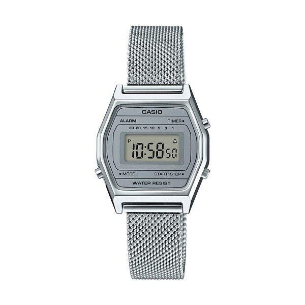 Relógio CASIO CC Retro Prateado LA690WEM-7EF