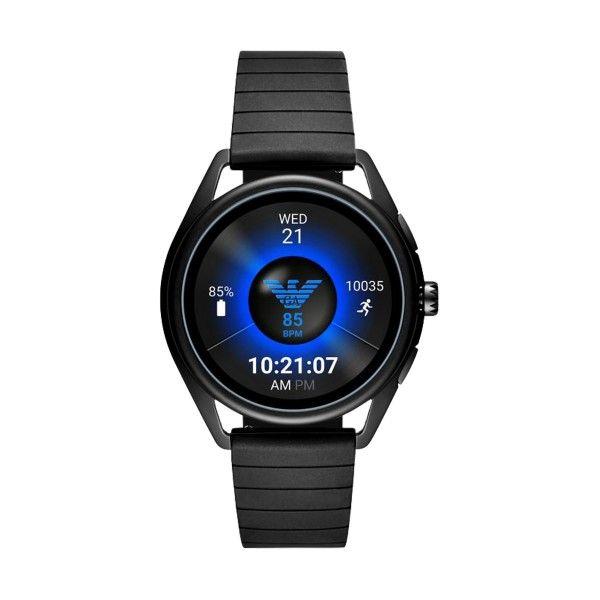Relógio Inteligente EMPORIO ARMANI Matteo Preto (Smartwatch) ART5017