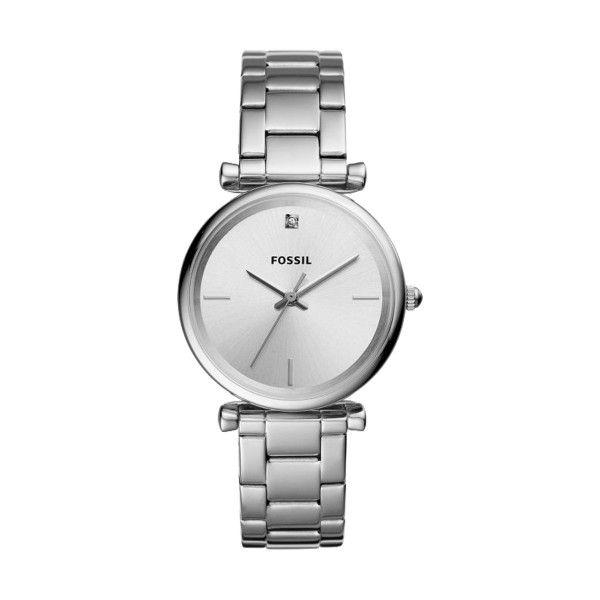 Relógio FOSSIL Carlie Prateado ES4440