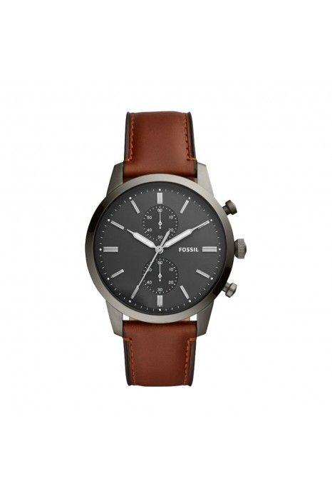 Relógio FOSSIL Townsman Castanho
