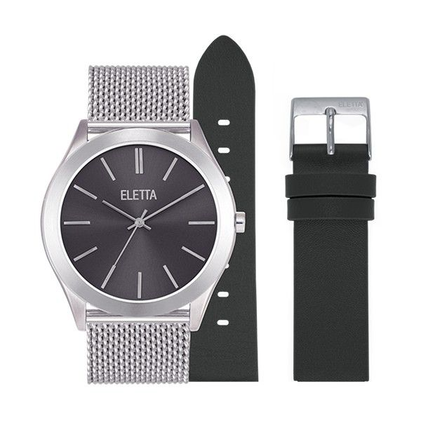 Relógio ELETTA Essence Prateado ELA431LPMSX