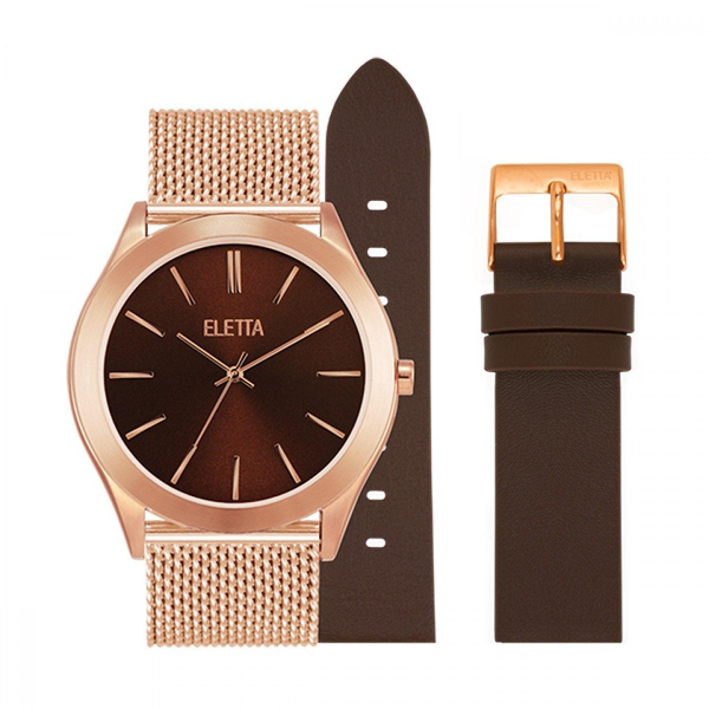 Relógio ELETTA Essence Ouro Rosa