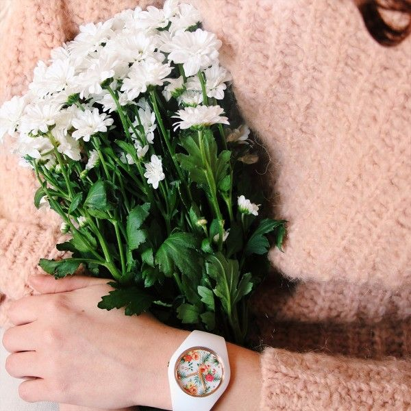 Relógio ICE Flower Branco IC016672