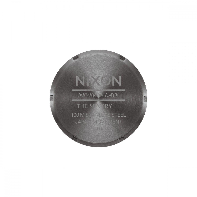Relógio NIXON Sentry Castanho