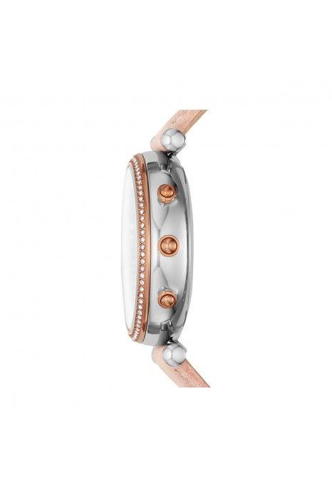 Relógio Inteligente FOSSIL Q Carlie Hybrid Rosa (Smartwatch)