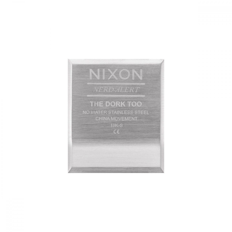 Relógio NIXON The Dork Too Prateado