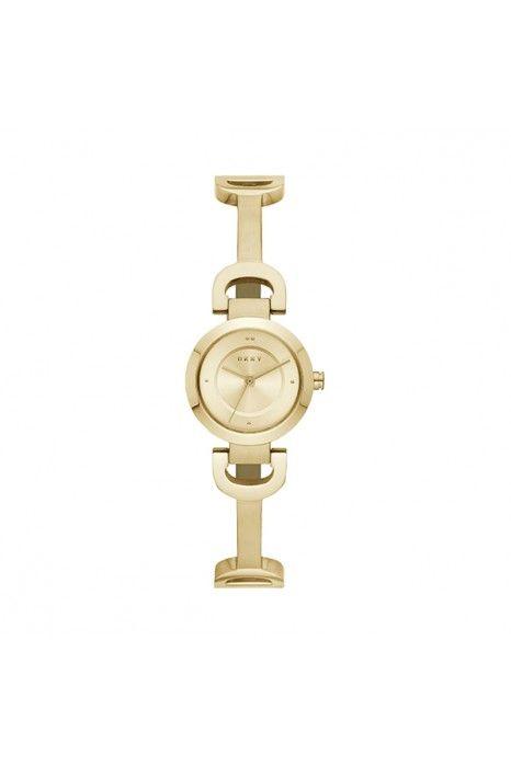 Relógio DKNY City Link Dourado