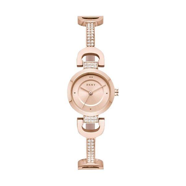 Relógio DKNY City Link Ouro Rosa NY2752