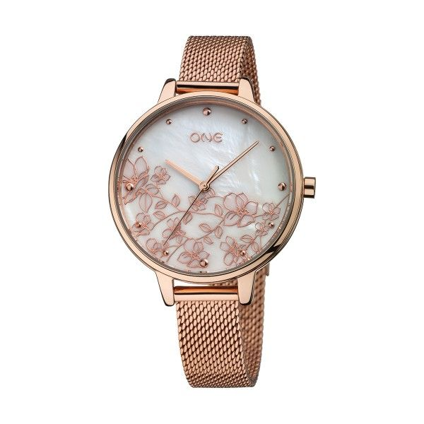 Relógio ONE Mummy Ouro Rosa 2019 - Edição Dia da Mãe OL0908BR91W