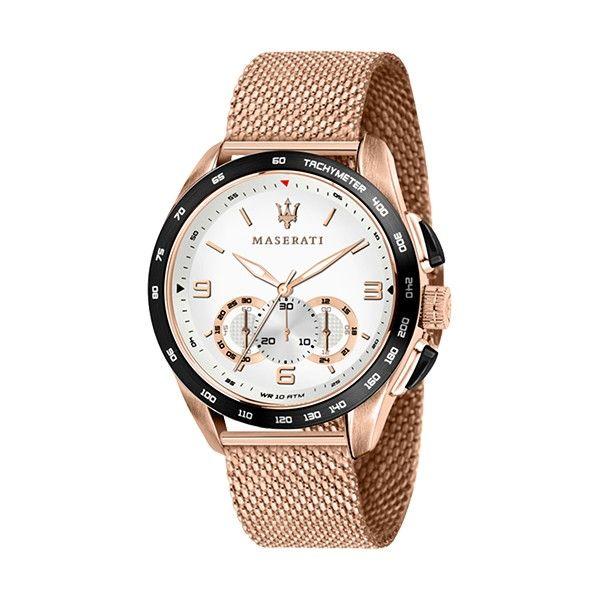 Relógio MASERATI Traguardo Ouro Rosa R8873612011
