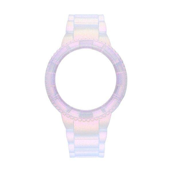 Bracelete WATX 43 Original Iris Prateado COWA1135