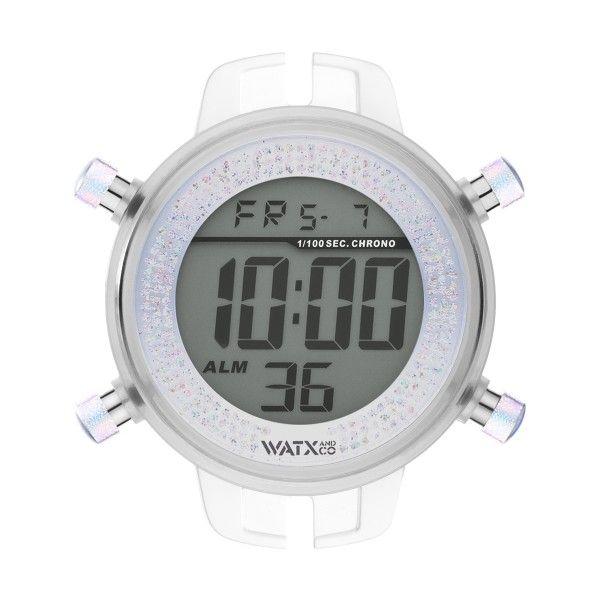 Caixa WATX 43 Digital Iris Prateado RWA1128