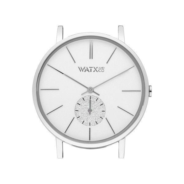 Caixa WATX 38 Analogic Iris Prateado WXCA1015