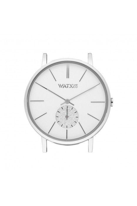 Caixa WATX 38 Analogic Iris Prateado