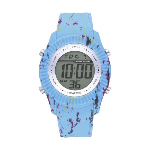 Bracelete WATX 43 Splash Azul COWA3101