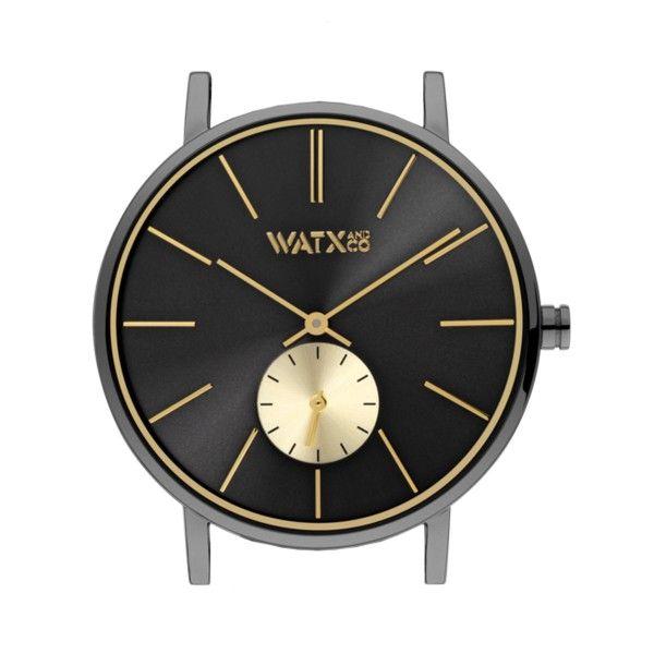 Caixa WATX 38 Analogic Basic Preto e dourado WXCA1005
