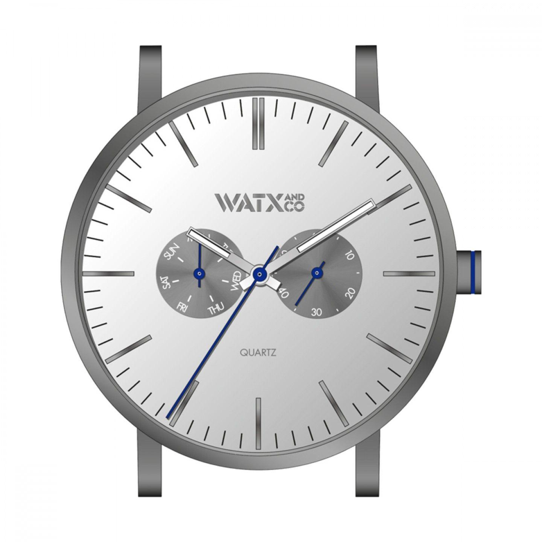 Caixa WATX 44 Analogic Basic Prateado
