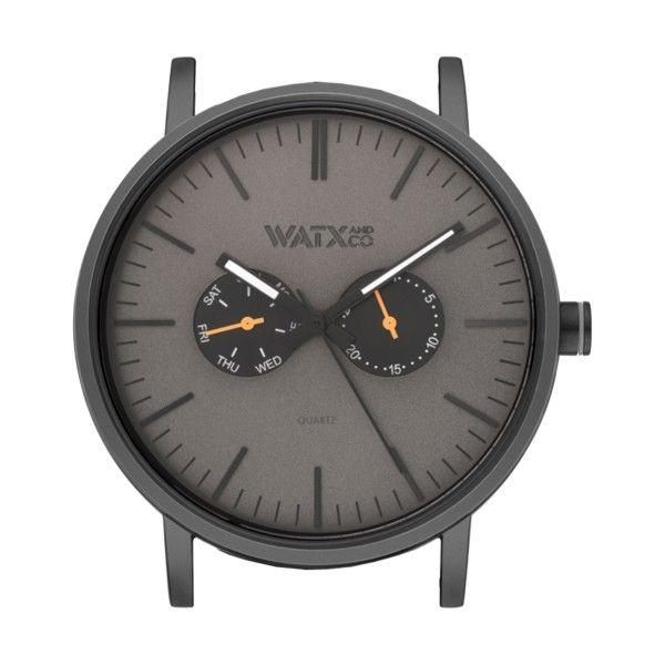 Caixa WATX 44 Analogic Basic Preto e laranja WXCA2705