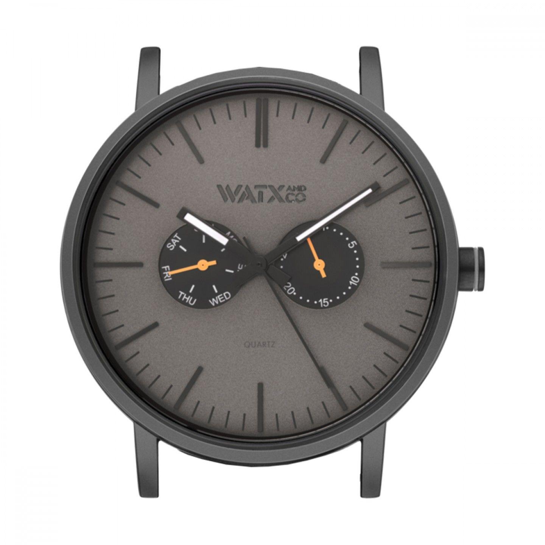 Caixa WATX 44 Analogic Basic Preto e laranja