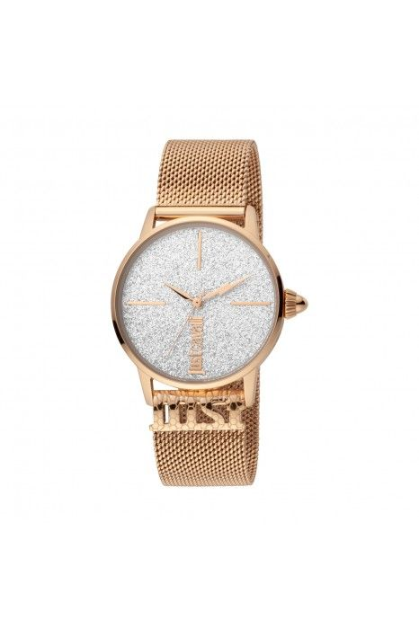 Relógio JUST CAVALLI TIME Logo Ouro rosa