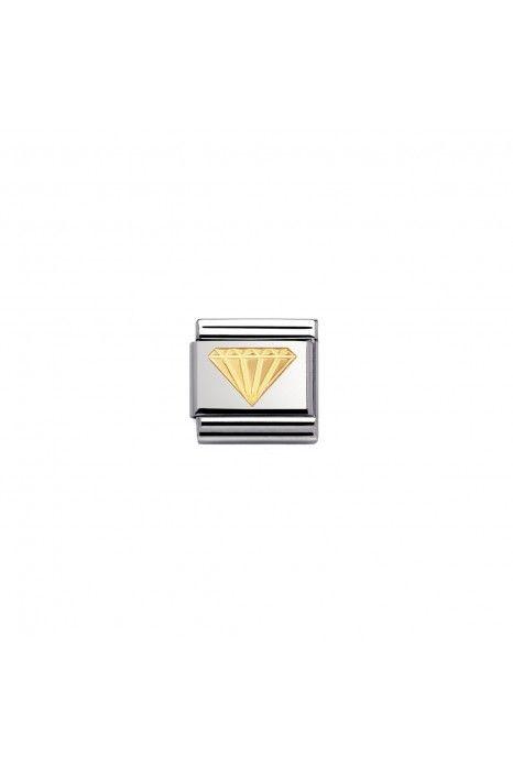 Charm Link NOMINATION Diamante