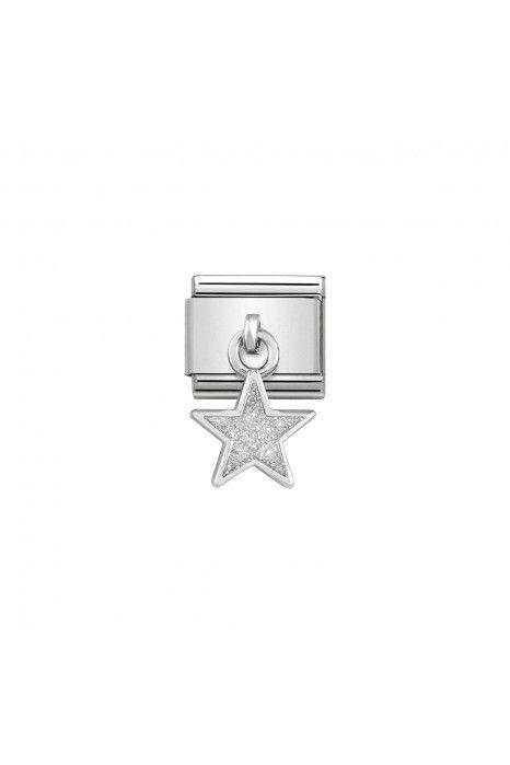 Charm Link NOMINATION Estrela Glitter