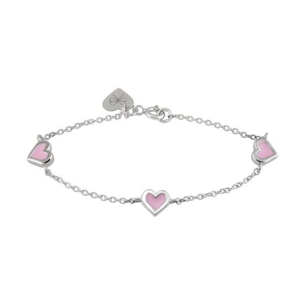 Pulseira BOW HAPPY Mini Me Daughter Heart BH.PU.0117.0017
