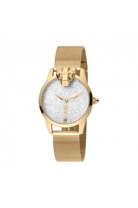 Relógio JUST CAVALLI TIME Animal Dourado