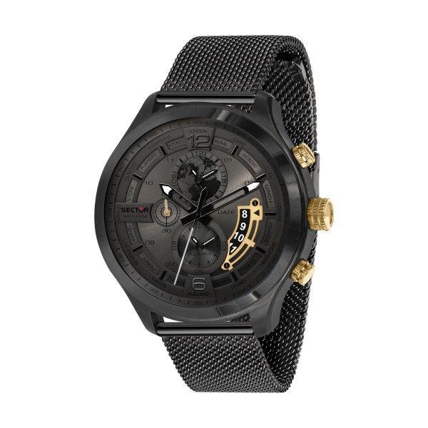 Relógio SECTOR Traveller Preto R3273804001