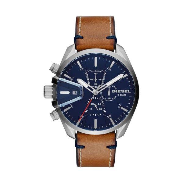 Relógio DIESEL MS9 Chrono Castanho DZ4470