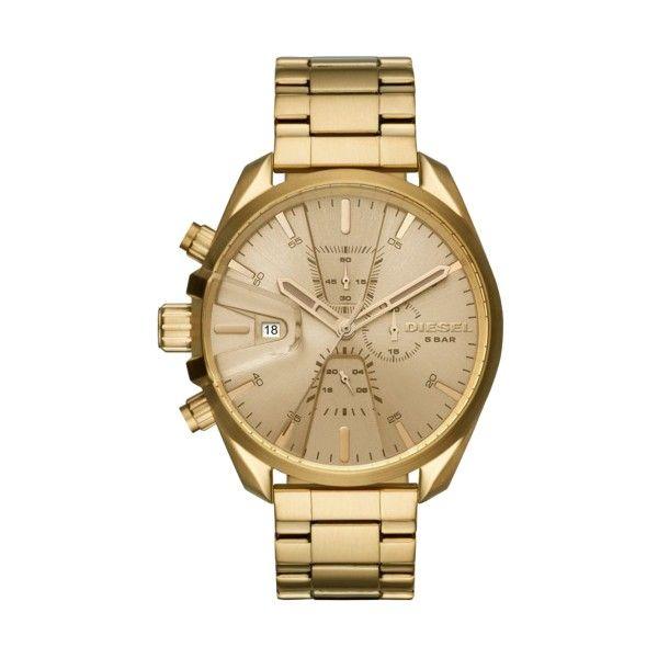 Relógio DIESEL MS9 Chrono Dourado DZ4475