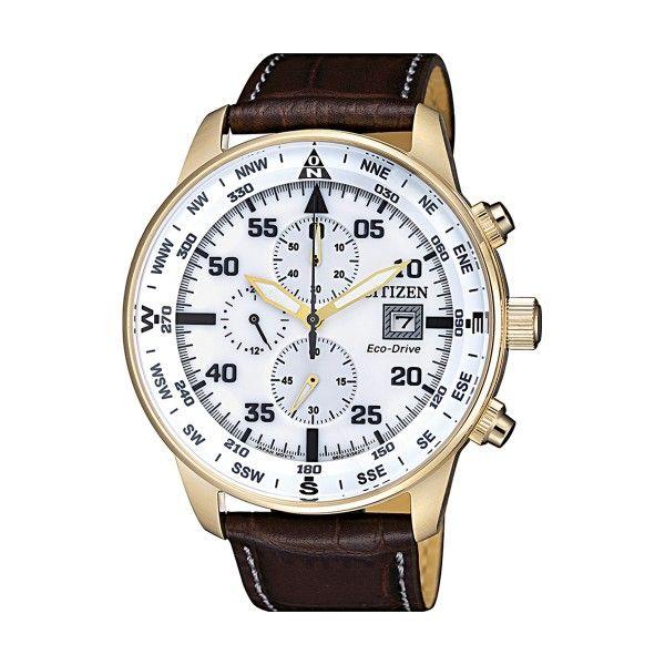 Relógio CITIZEN Ore Felici Castanho CA0693-12A