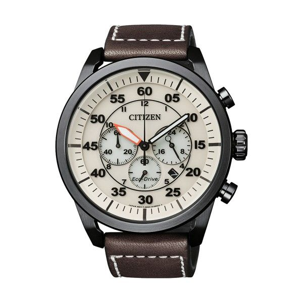 Relógio CITIZEN Ore Felici Castanho CA4215-04W