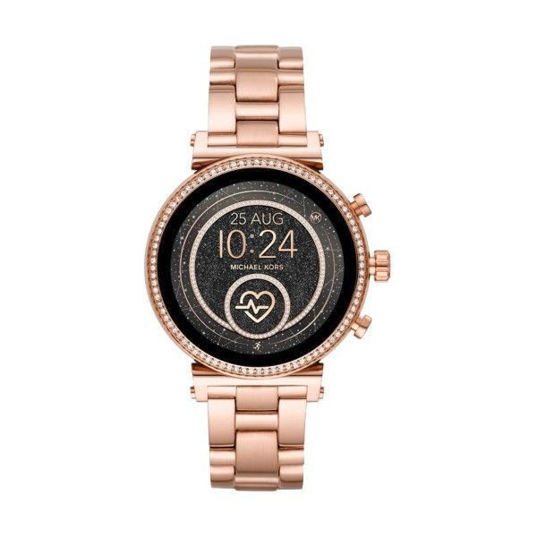 Relógio Smartwatch MICHAEL KORS ACCESS Sofie 2.0 Ouro Rosa MKT5063
