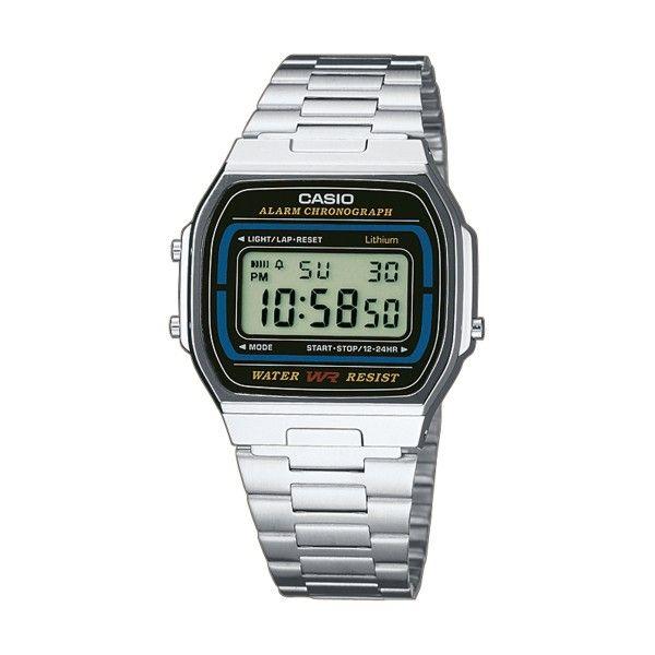 Relógio CASIO Vintage Iconic Prateado A164WA-1VES
